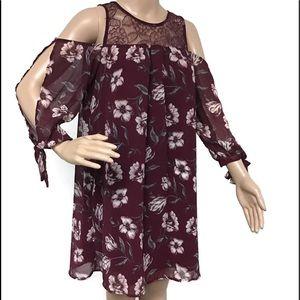 S. TRIXXIGIRL FLORAL DRESS
